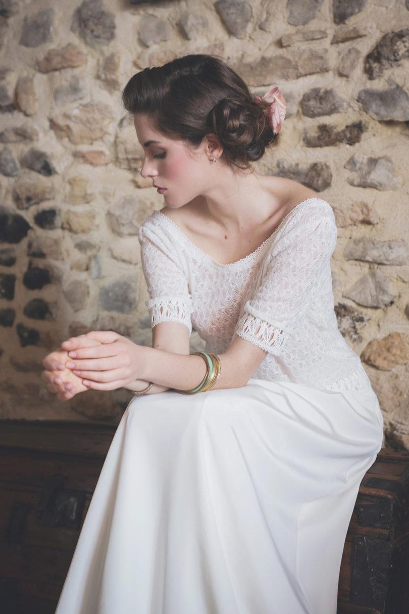 Aurélia Hoang - Robes de mariée - collection 2017 - A découvrir sur le blog mariage www.lamarieeauxpiedsnus.com - Photos : AL&KPhotography