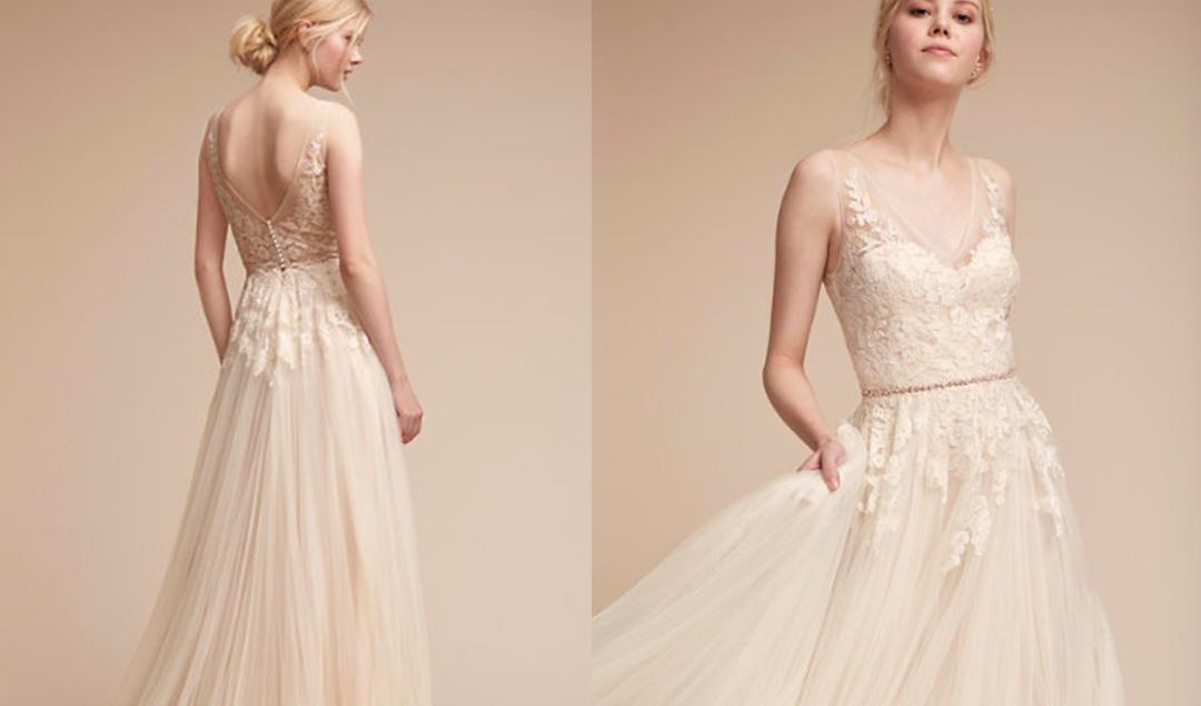 BHLDN - Robes de mariée - Accessoires de mariage - A découvrir sur le blog mariage www.lamarieeauxpiedsnus.com