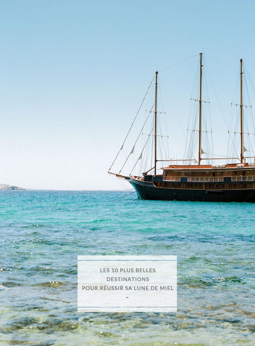 Les 10 plus belles destinations pour partir en voyage de noces - A découvrir sur le blog mariage www.lamarieeauxpiedsnus.com - Photo : Blancoco Photographe