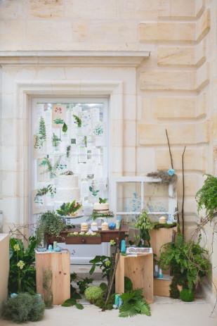 Shooting inspiration - Un mariage geometrique botanique - Bubblerock - Bubble and Joy - 123 nous irons - La mariee aux pieds nus