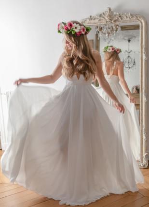 ByNParis - LOVE -La mariee aux pieds nus