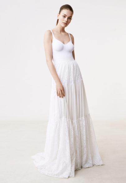 Delphine Manivet - Robes de mariée - Collection 2017 - Jupe Caleb - a découvrir sur le blog mariage www.lamarieeauxpiedsnus.com