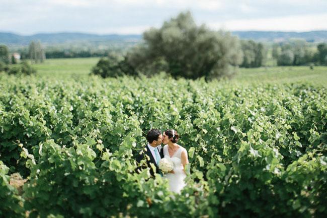 Greg Finck - Un mariage en bleu en Provence - Mas de So - La mariee ...