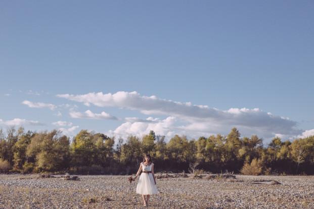 C.Dendoune et J.Pelletier Monsieur + Madame - Un mariage aux couleurs d automne - La mariee aux pieds nus