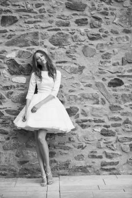 Delphine Manivet - robes de mariée - Collection 2016 - - Modele Alexis - A découvrir sur le blog mariage La mariée aux pieds nus