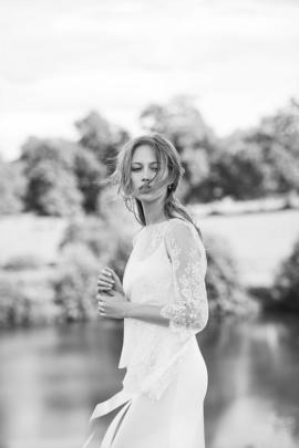 Delphine Manivet - robes de mariée - Collection 2016 - - Modele Edouard - A découvrir sur le blog mariage La mariée aux pieds nus