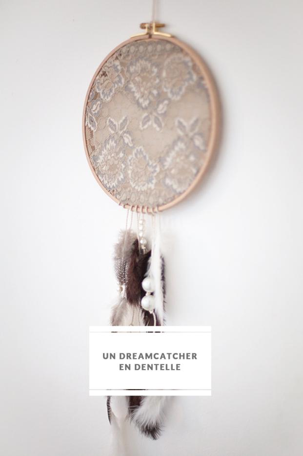DiY- Un dreamcatcher en dentelle - La mariee aux pieds nus