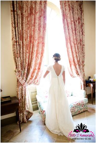 Beatrice de Guigne - Un mariage pastel en Normandie - La mariee aux pieds nus