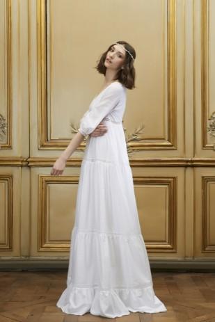 Delphine Manivet - Robes de mariee - Collection 2015 - La mariee aux pieds nus - ESTEBAN
