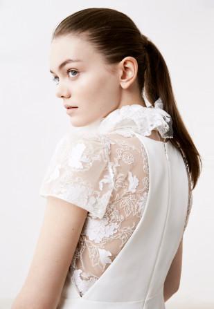 Delphine Manivet - Robes de mariée - Collection 2017 - Jupe Edmond et top Anthelme - a découvrir sur le blog mariage www.lamarieeauxpiedsnus.com