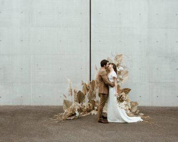 Un mariage épuré et minimaliste - Photos : Elodie Winter - Blog mariage : La mariée aux pieds nus