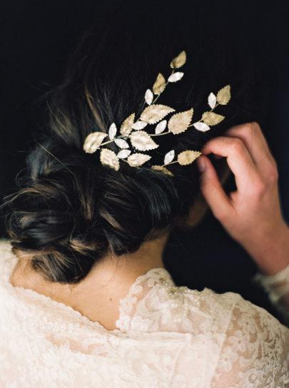 Melinda Rose design - Accessoires de mariée - Photo : Erich McVey - La mariée aux pieds nus
