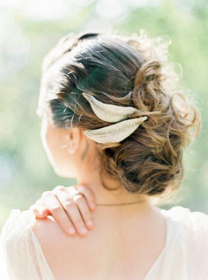 Un mariage en vert et blanc inspiré par la nature - Shooting éditorial - La mariée aux pieds nus - Photographie et Stylisme : Brancoprata