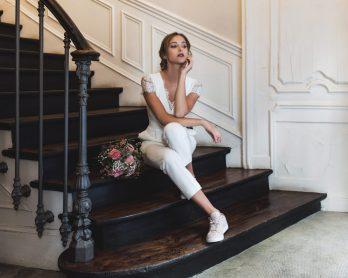 HARPE - COMBINAISON 630€ - Robes de mariée - Collection mariage civil 2018 - Blog mariage : La mariée aux pieds nus