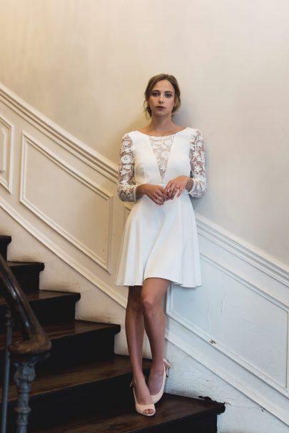 Harpe - LOLITA - 890€ - Robes de mariée - Collection mariage civil 2018 - Blog mariage : La mariée aux pieds nus
