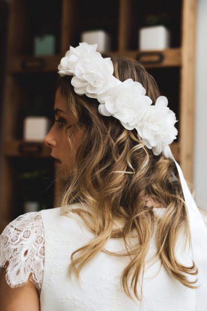 Harpe - ROBE DY 550€ - Robes de mariée - Collection mariage civil 2018 - Blog mariage : La mariée aux pieds nus