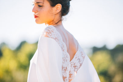 Ingrid Lepan - L'accessoire - Capes de mariee - La mariee aux pieds nus