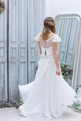 La mariee aux pieds nus - Marie Laporte - Creation de robes de mariee - collection 2014 - JOHANA