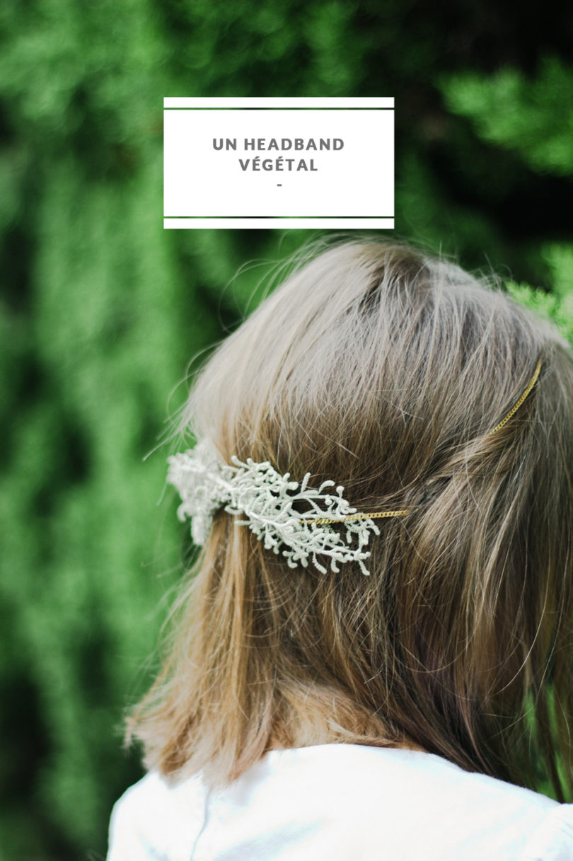 Julie T -Creer un headband vegetal - Do it yourself - La mariee aux pieds nus