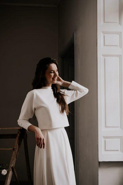 Delphine Josse - Robes de mariée - Collection 2021 - Photos : Céline Deligey - Blog mariage : La mariée aux pieds nus