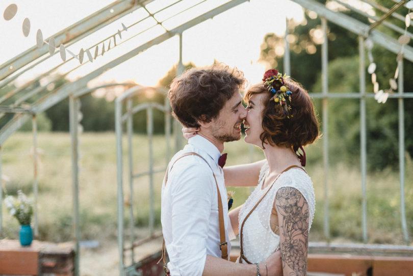 Un mariage joyeux, simple et coloré à découvrir sur le blog mariage www.lamarieeauxpiedsnuis - Photos : Willy Brousse