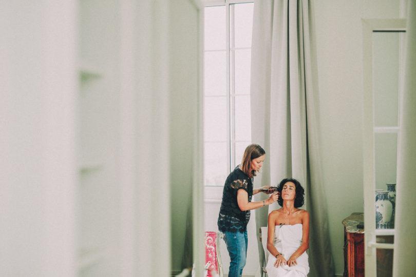 Un mariage en vert et blanc au château du Puech Haut - Herault - Photos : David Latour