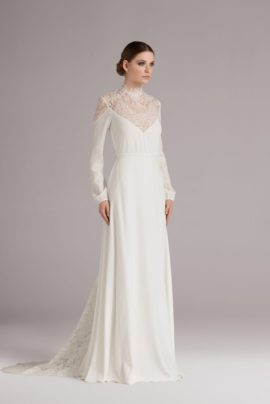 La mariée aux pieds nus - Anna Kara, robes de mariée - Collection 2015 - Modele Emily