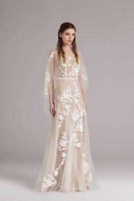 La mariée aux pieds nus - Anna Kara, robes de mariée - Collection 2015 - Modele Ygritte