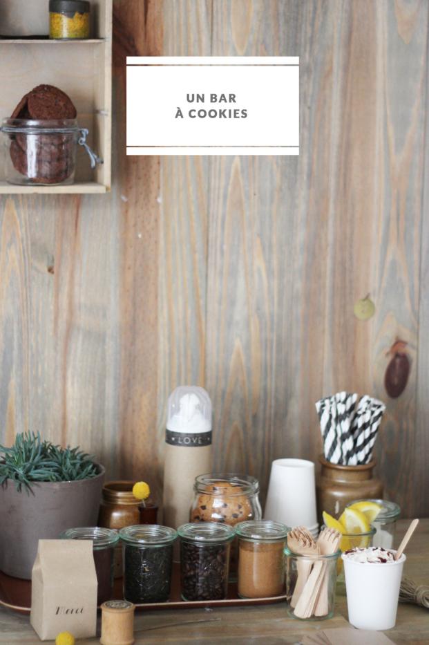 La mariee aux pieds nus - DiY - Un bar a cookies