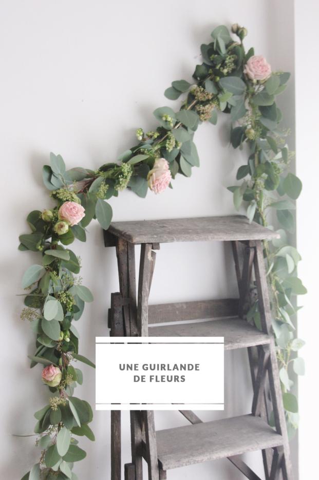 La mariee aux pieds nus - DiY - Une guirlande de fleurs