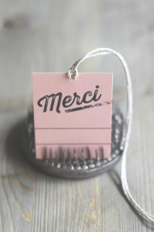 La mariee aux pieds nus - Etiquettes merci - Mister M Studio pour La mariee aux pieds nus - 6