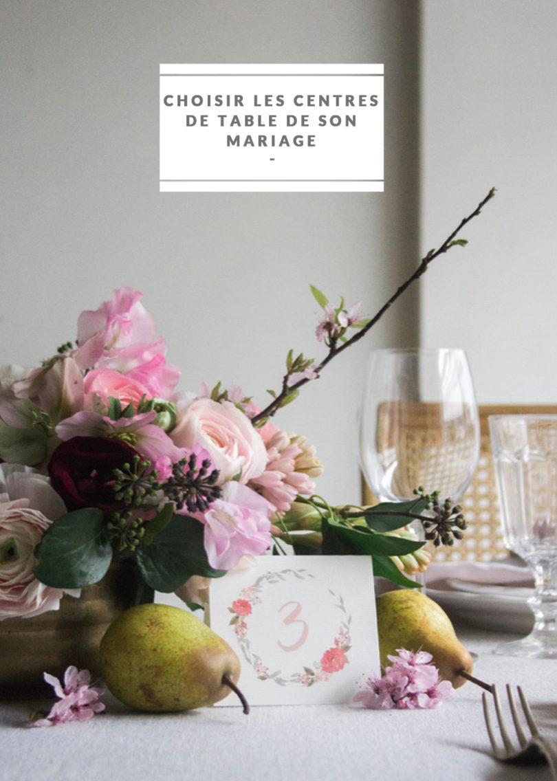 comment choisir les centres de table de son mariage