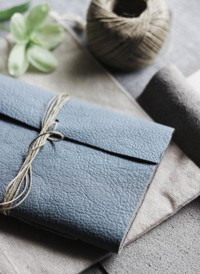 Do it Yourself - Comment fabriquer un carnet en cuir - La mariée aux pieds nus