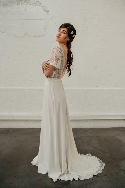 La Chambre Blanche x Mathilde Marie - Accessoires de mariée - Photos : Alejandra Loaiza - Blog mariage : La mariée aux pieds nus