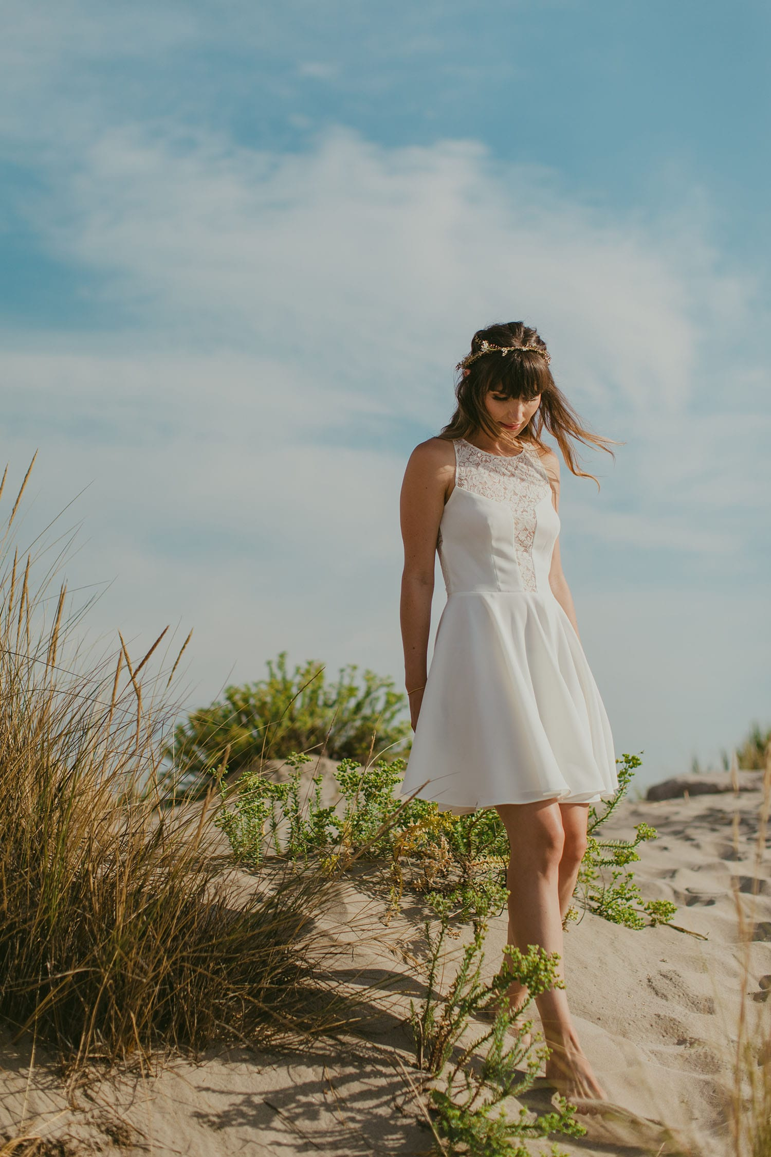 La Maison Dautel - Fleuriste de mariage - Blog mariage : La mariée aux pieds nus