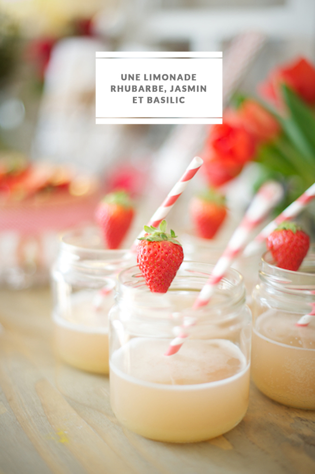 Laovely Pics - DiY - Recette - Rhubarbe rhubarbe jasmin basilic - La mariee aux pieds nus