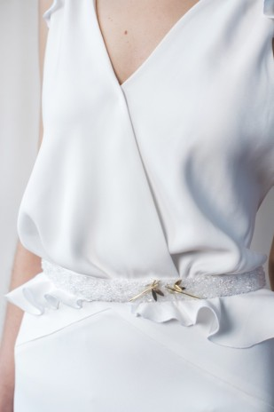 Lifestories Wedding - Carnets de mariage - Collection 2015 - La mariee aux pieds nus