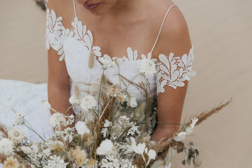 Louise Valentine - Robes de mariée bio - Collection 2020 - Blog mariage : La mariée aux pieds nus