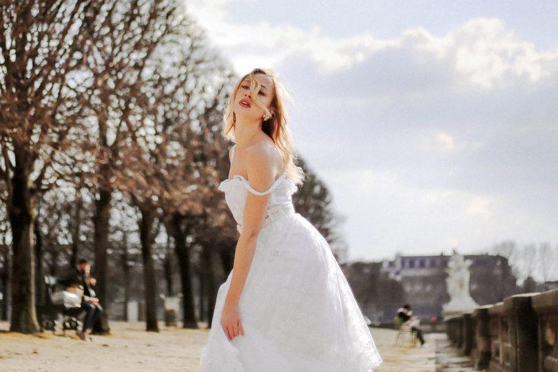 MCDM Vintage - Mode mariée vintage par Céline de Monicault - Photos : Maïwen Nicolas - Blog mariage : La mariée aux pieds nus