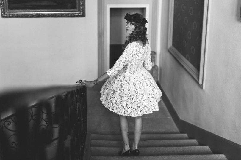 Laurent Brouzet - Robe de mariee Manon Gontero - Collection 2015 - La mariee aux pieds nus