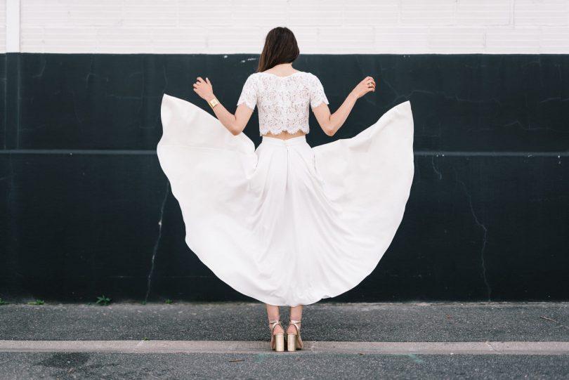 Mademoiselle de Guise - Robes de mariée - Collection 2019 - Photos : Chloé Lapeyssonnie - Blog mariage : La mariée aux pieds nus