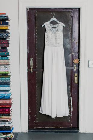 Mademoiselle Fiona - Un mariage en toute intimite a New York - La mariee aux pieds nus