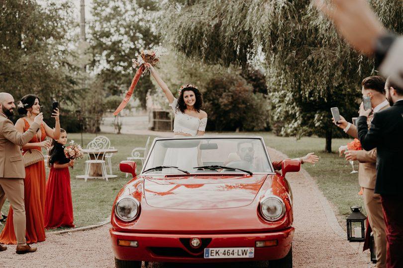 Un mariage terracotta en Bourgogne - Photos : The Quirky - Blog mariage : La mariée aux pieds nus.