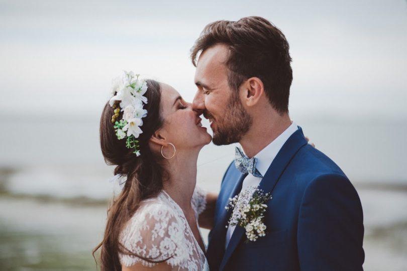 Un mariage en blanc à l'île de Ré - A découvrir sur le blog mariage www.lamarieeauxpiedsnus.com - Photos : Wild Sparrow