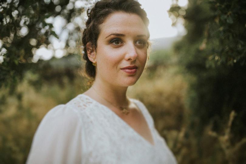 Un mariage champêtre en vert en Provence - A découvrir sur le blog mariage La mariée aux pieds nus - Photos : NeuPap Photography