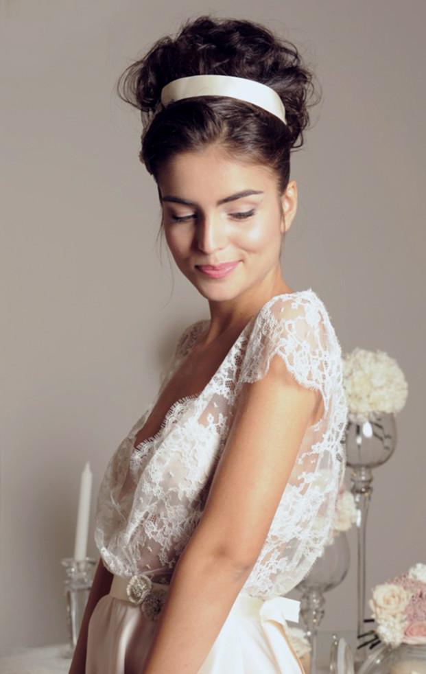 Meryl suissa - Collection de robe de mariee 2014 - La mariee aux pieds nus - Robe Joan