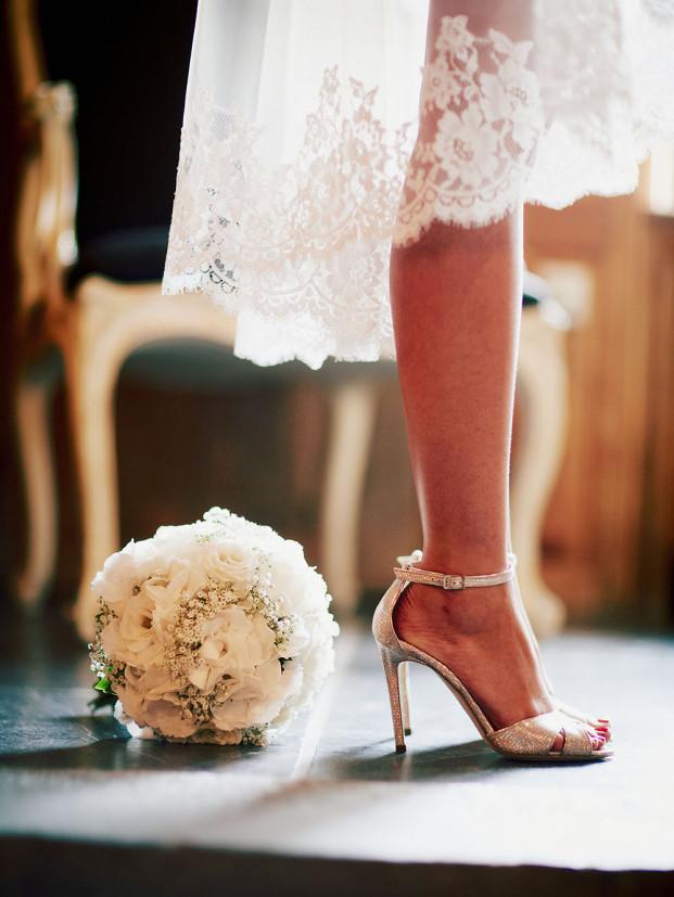 Michael Ferire - Un mariage a la Ferme de la Haillebaude - La mariee aux pieds nus