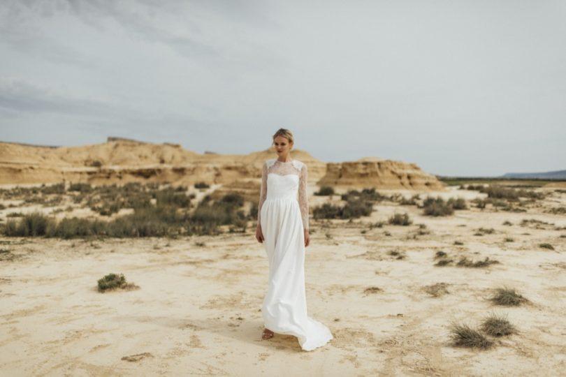 La mariée aux pieds nus - Photo : Thierry Joubert - Oh Oui par Atelier Anonyme - Robes de mariée - Collection 2016 - Modele Cécile