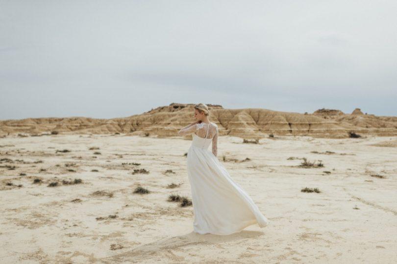 La mariée aux pieds nus - Photo : Thierry Joubert - Oh Oui par Atelier Anonyme - Robes de mariée - Collection 2016 - Modele Cecile