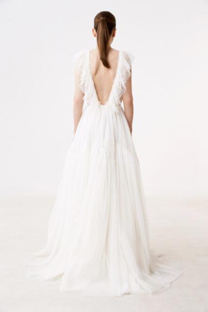 Delphine Manivet - Robes de mariée - Collection 2017 - Robe Pasquier - a découvrir sur le blog mariage www.lamarieeauxpiedsnus.com